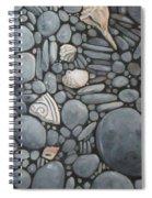 Stone Beach Keepsake Rocky Beach Shells And Stones Spiral Notebook