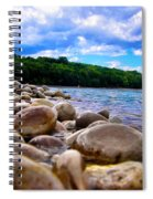Stone Beach Spiral Notebook