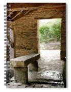 Stone Bench Spiral Notebook