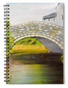 Stone Bridge At Burrowford Uk Spiral Notebook