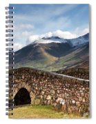 Stone Bridge In Mountain Landscape Spiral Notebook