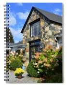 Stone Building In Connecticut Spiral Notebook