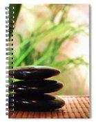 Stone Cairn Spiral Notebook