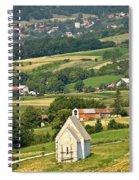 Stone Church In Green Nature Spiral Notebook