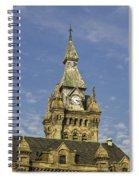 Stone Clock Tower Spiral Notebook