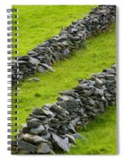 Stone Fences In Ireland Spiral Notebook