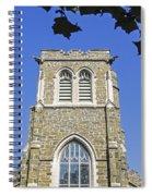 Stone Gothic Church Spiral Notebook