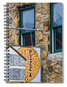 Stone House Pizza Spiral Notebook
