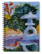 Stone Lantern Spiral Notebook