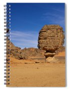 Stone Mushroom Spiral Notebook