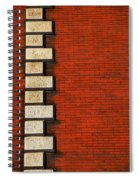 Stone On Brick Spiral Notebook