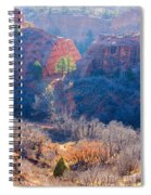 Stone Quarry At Red Rocks Open Space Spiral Notebook