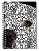 Stone Rock'd Dog By Sharon Cummings Spiral Notebook