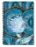 Stone Rose Spiral Notebook