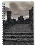 Stone Ruins At Old Liberty Park - Spokane Washington Spiral Notebook