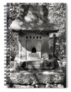 Stone Shrine Spiral Notebook