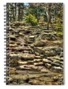 Stone Spring At Woodward Park 1 Spiral Notebook