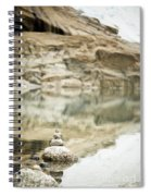 Stone Stack Pool Spiral Notebook