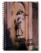 Stone Statue Woman  Spiral Notebook