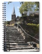 Stone Steps And Saint Peters Church At Harpers Ferry Spiral Notebook