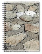 Stone Walkway At Old Fort Niagara Spiral Notebook
