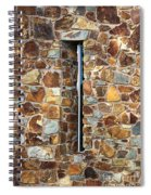 Stone Wall-small Window Spiral Notebook