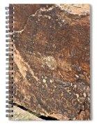 Stone Written Spiral Notebook