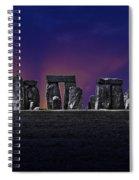 Stonehenge Looking Moody Spiral Notebook