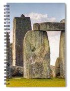 Stonehenge Panorama Spiral Notebook