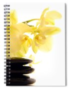 Stones And Orchid Spiral Notebook