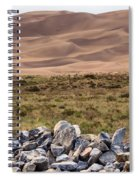 Stones And Sand Spiral Notebook
