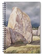 Stones Of Castlerigg Spiral Notebook