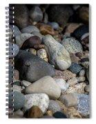 Stones On Beach Spiral Notebook