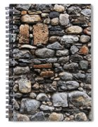 Stones Wall Spiral Notebook