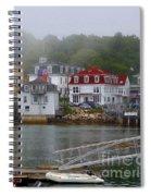 Stonington Harbor 2 Spiral Notebook