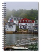Stonington Harbor 2 Spiral Notebook