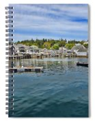 Stonington In Maine Spiral Notebook