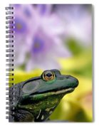 Stop And Smell The Hyacinths Spiral Notebook