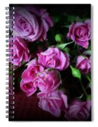 Stop And Smell The Roses Spiral Notebook