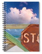 Stop Spiral Notebook