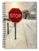Stop Sign Spiral Notebook