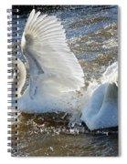 Stop Splashing Me Spiral Notebook