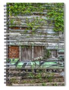 Stop The Decay Spiral Notebook