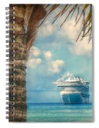 Stopover In Paradise Spiral Notebook