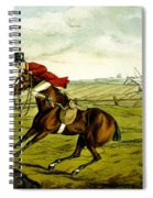 Stopping At Water From Qualified Horses And Unqualified Riders Spiral Notebook