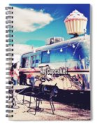 Stopping For A Treat Spiral Notebook