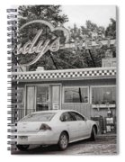 Stopping On Route 6 Spiral Notebook