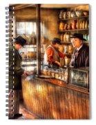 Store - Ah Customers Spiral Notebook
