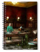 Store - Fish - C Lindenberg Hollieferont Fish Store Berlin Germany 1895 Spiral Notebook