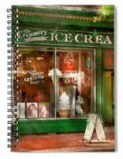 Store Front - Alexandria Va - The Creamery Spiral Notebook